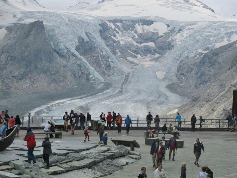 Pasterze Glacier, Grossglockner Road, Austria, 2012 (4719a)