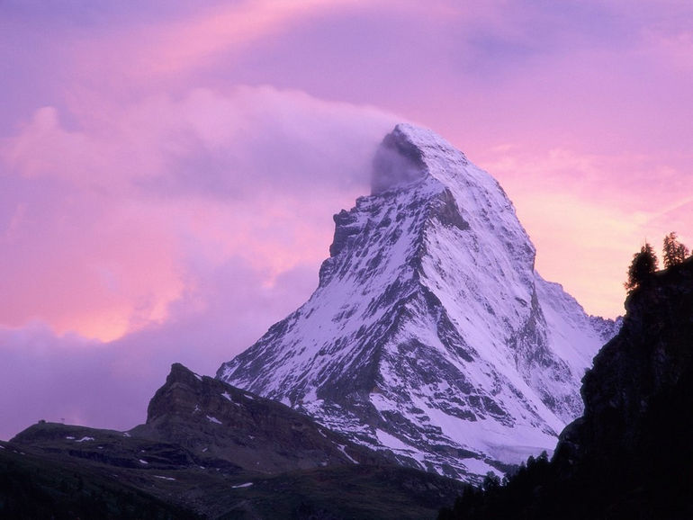 Wind Shear, Matterhorn, Switzerland