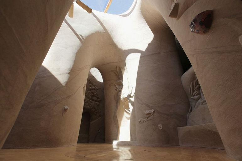 Пещеры в Нью Мексико: рукотворные шедевры от Ра Паулета (США)