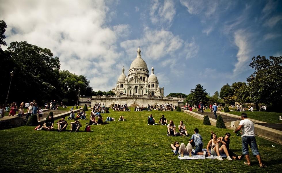 Базилика Сакре-Кер: «во искупления грехов» (Франция)
