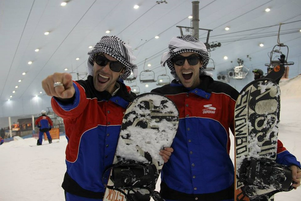 Горнолыжный комплекс Ski Dubai (ОАЭ)