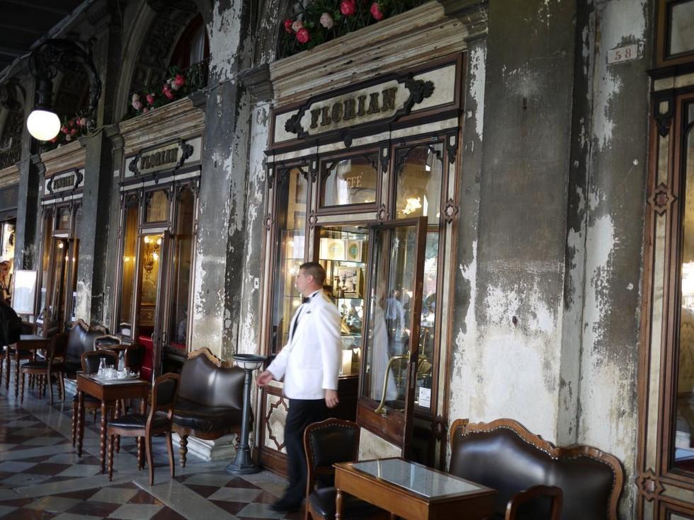 Кафе «Флориан» в Венеции (Италия)