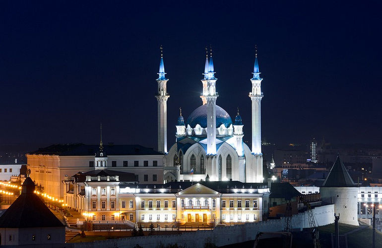 Мечеть Кул Шариф: символ воссоединения двух религий (Россия)