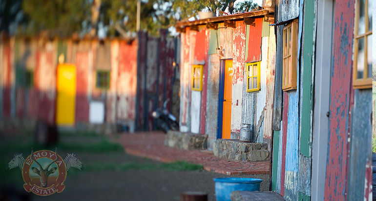 Shanty Town: отель «Трущобы» в ЮАР