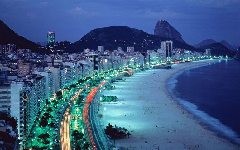 Пляж Копакабана (Бразилия)