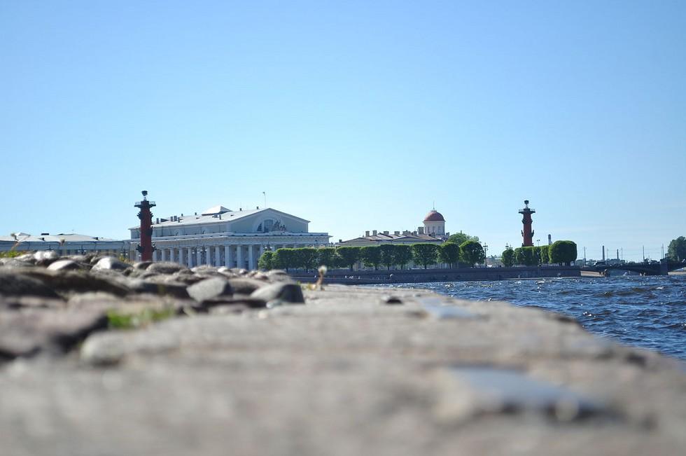 Васильевский остров: окраса Невы (Россия)