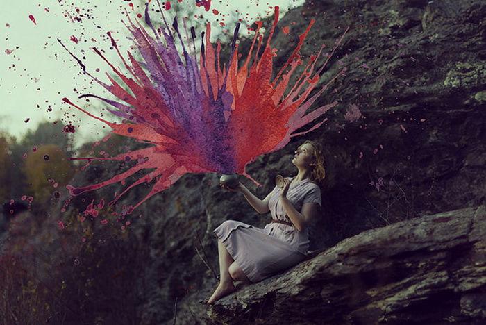 Anesidora от Aliza Razell: акварели и фотографии