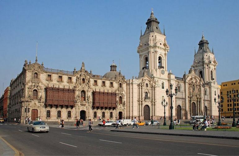 Кафедральный собор в Лиме (Перу)