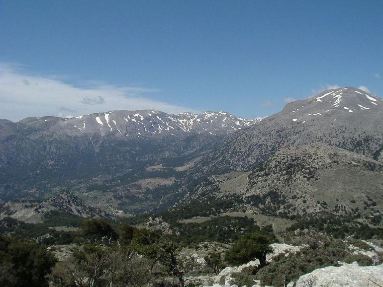 Горы Дикти на Крите (Греция)