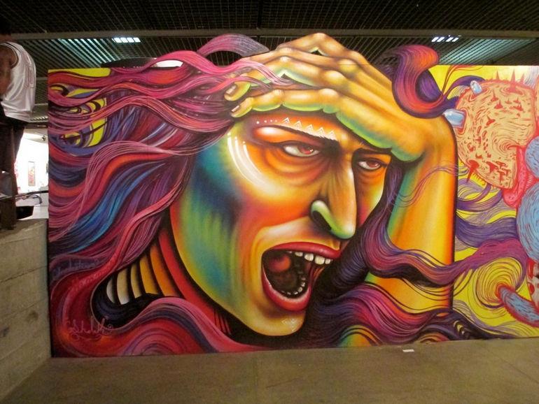 Graffiti Fine Art Biennial: бразильский фестиваль стрит-арта