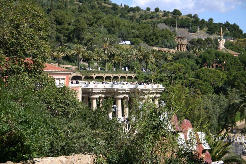 Spain.Catalonia.Barcelona.Park.Güell.Vista.2