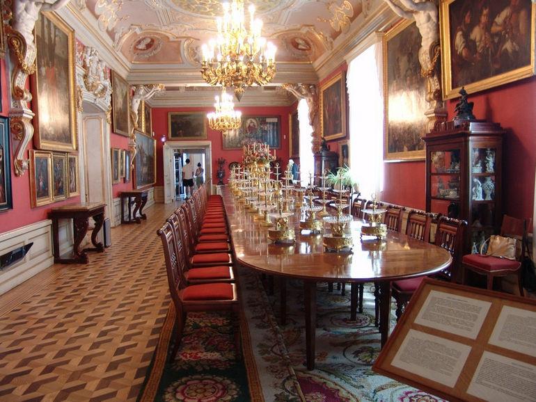 Wilanow_dining_room