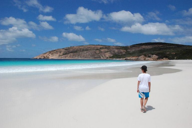 Пляж Hyams Beach: самый белый песок в мире (Австралия)