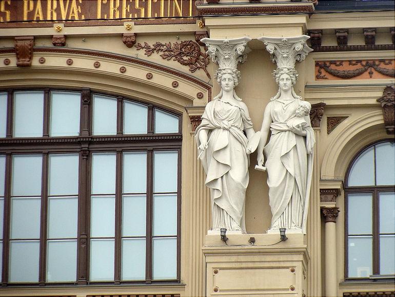Атенеум: художественный музей в Хельсинки (Финляндия)