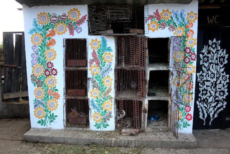 Залипье: деревня с расписными домами (Польша)