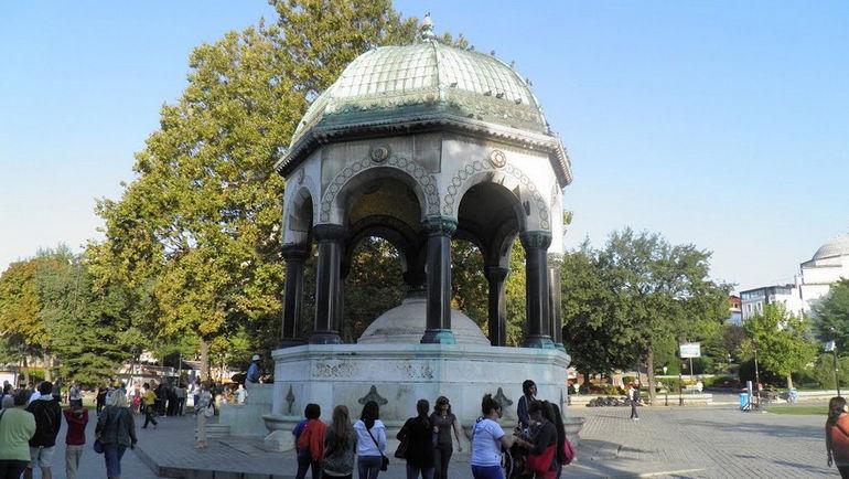 Немецкий фонтан: свидетельство о былой германо-турецкой дружбе (Турция)
