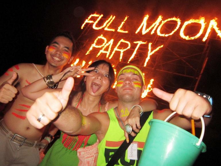 Фестиваль Полной луны: вечер безудержного веселья (Таиланд)