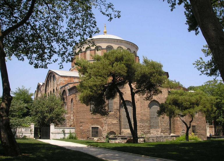 Церковь Святой Ирины: святыня с неоднозначной историей (Турция)