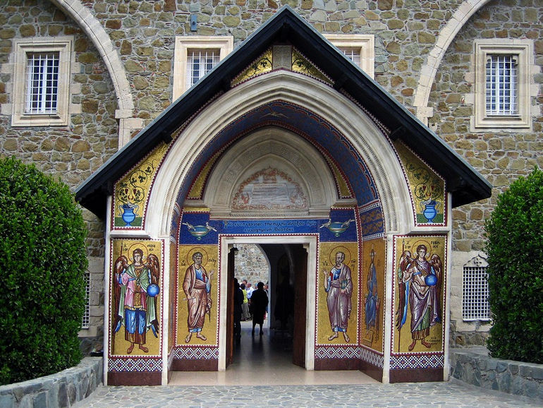 Kykkos-Monastery-Entrance_Troodos-Mountains