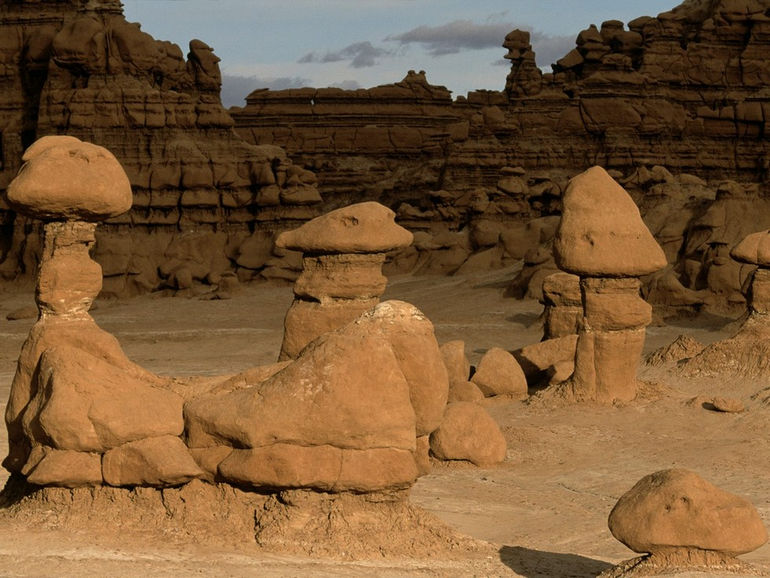 Land of Goblins, Goblin Valley State Park, Utah