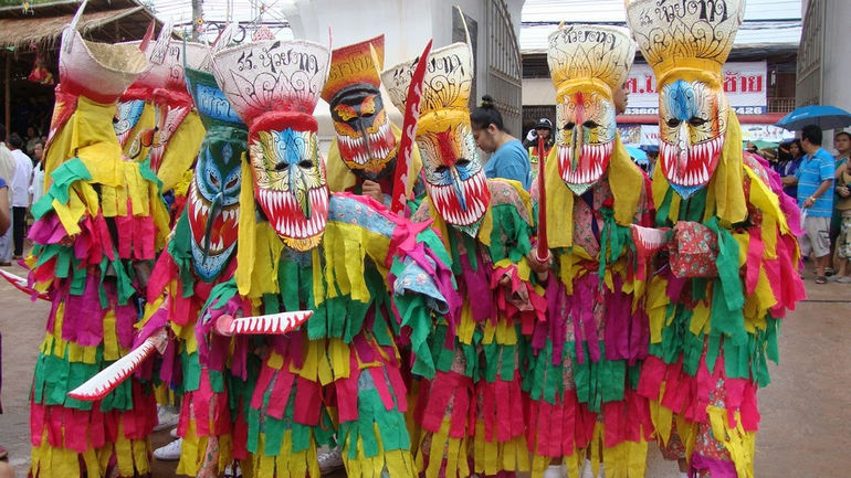 Pi Ta Khon Festival 038