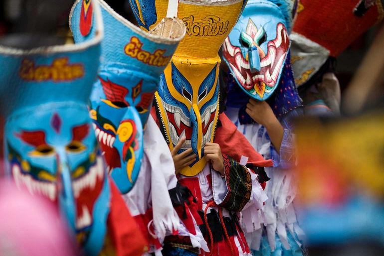 Пи Та Кхон: фестиваль призраков (Таиланд)