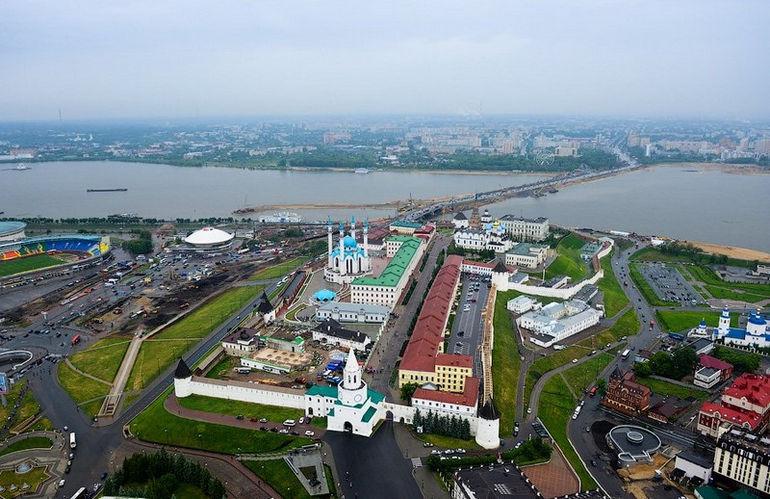 Казанский кремль: выдающийся исторический памятник Татарстана (Россия)