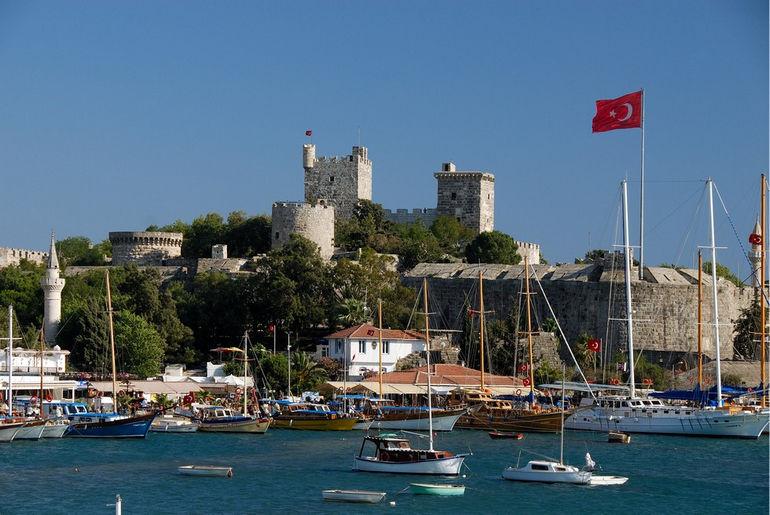 Замок Святого Петра: полтысячелетия истории (Турция)
