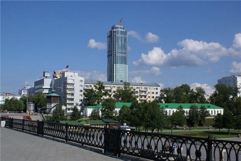 Исторический сквер: визитная карточка Екатеринбурга (Россия)
