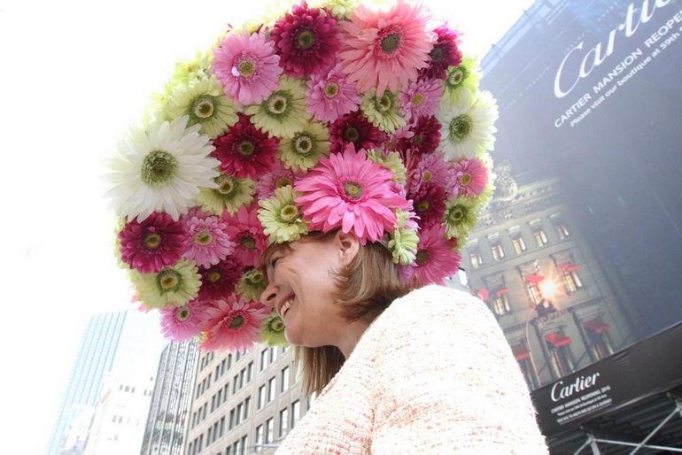 Парад шляп 2014 года в Нью-Йорке: необычный полет фантазии (США)