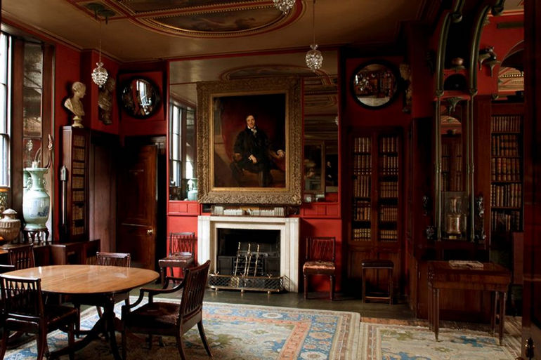 Sir John Soane Museum, Dining Room.
