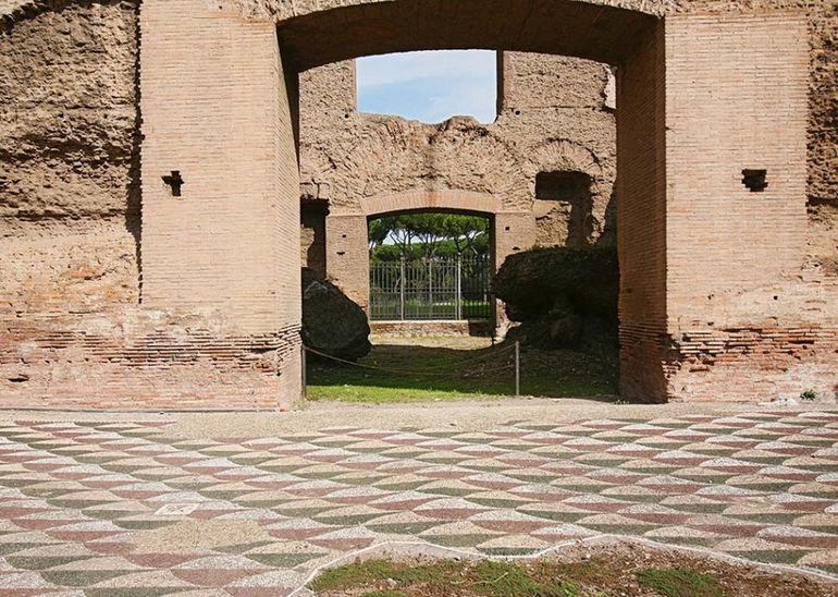Terme di Caracalla (rom) http://de.wikipedia.org/wiki/Caracalla-Thermen