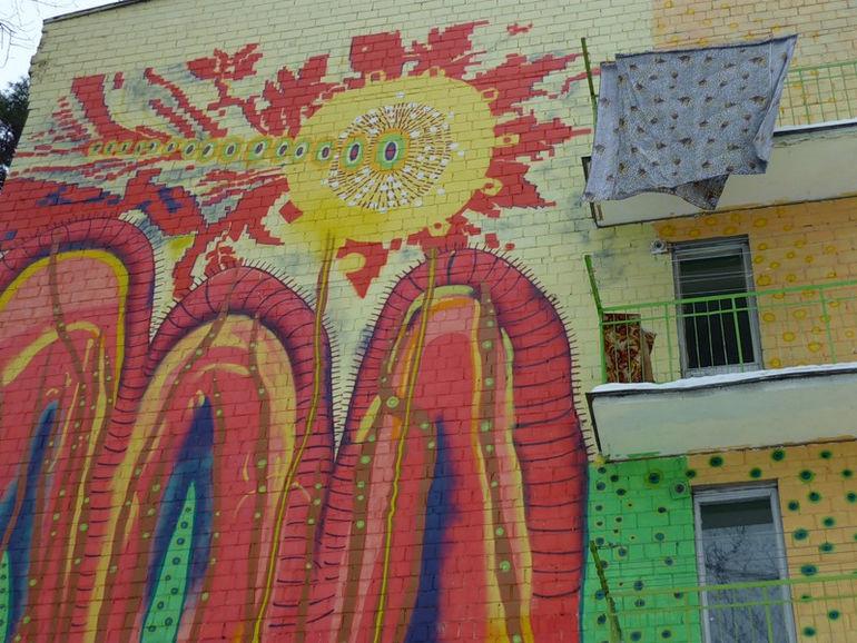 Хрущевки на Изумрудной улице