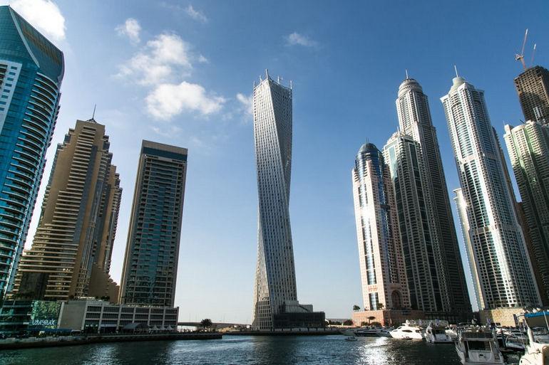 Infinity Tower: самое большое спиралевидное сооружение на планете (ОАЭ)