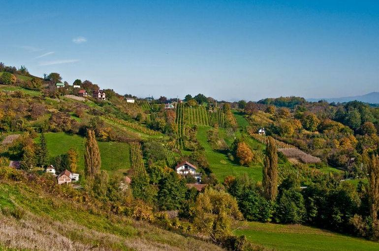 Жумберак: живописные пейзажи Хорватии