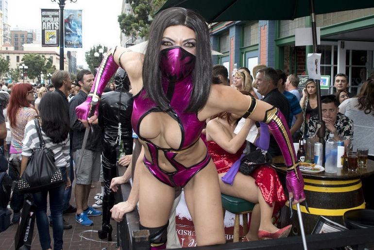 Comic-Con: самый большой в США фестиваль костюмов