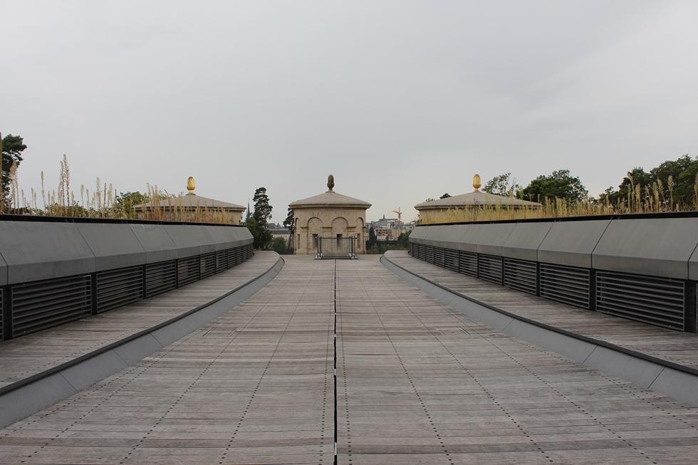 Крепость Три желудя, Люксембург