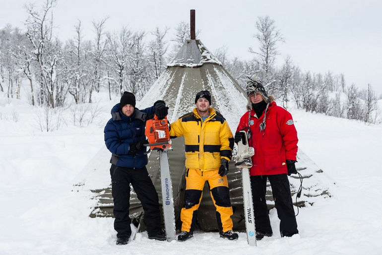 Фестиваль ледяной музыки в Норвегии
