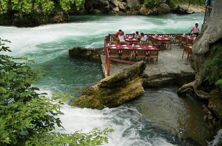 Manavgat waterfall Turkey 1175584886