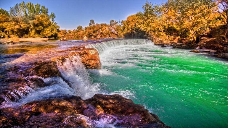 Водопад Манавгат: одно из самых посещаемых мест в Турции