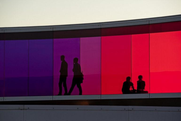 Твоя радужная панорама в Орхусе (Дания)