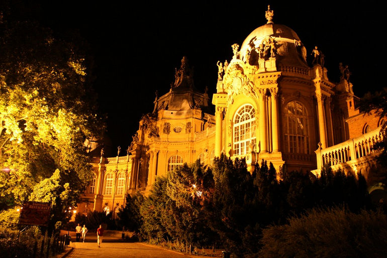 замок Вайдахуняд Венгрия