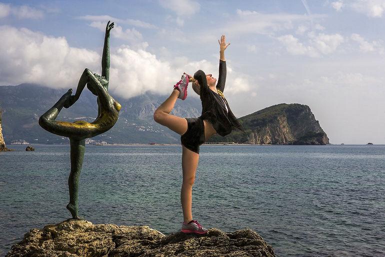 Танцовщица из Будвы