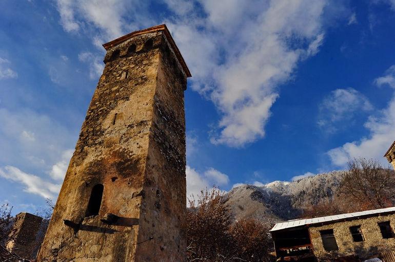 Башни Сванети (Грузия)