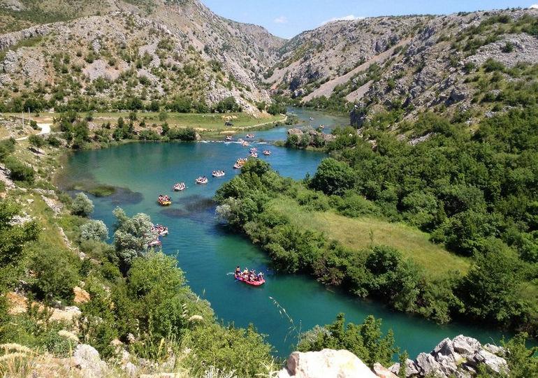 Зрманя: самая красивая река Хорватии