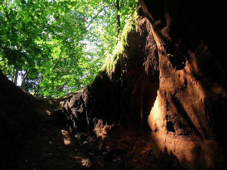 Оредежские пещеры