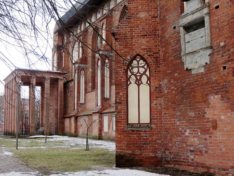 Мавзолей Иммануила Канта в Калиниграде (Россия)