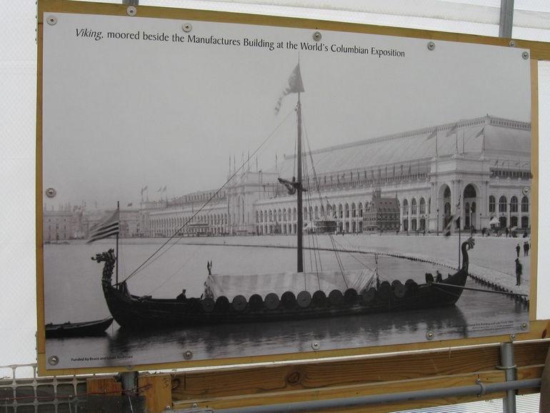 1893 Worlds Fair Viking Ship (7)