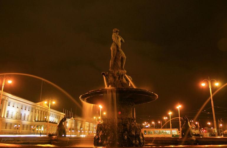 скульптура Хавис Аманда в Хельсинки