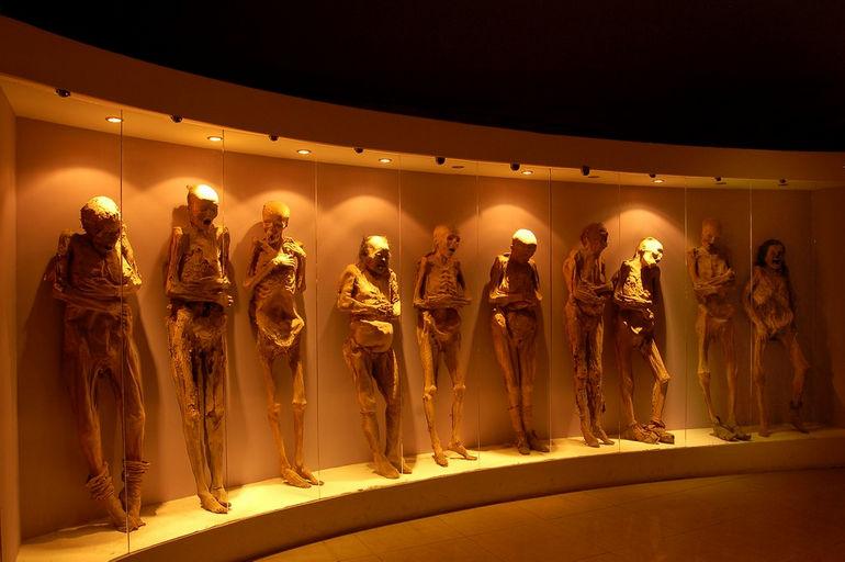 Музей мумий Гуанахуато: тела, сохранившееся естественным путем (Мексика)